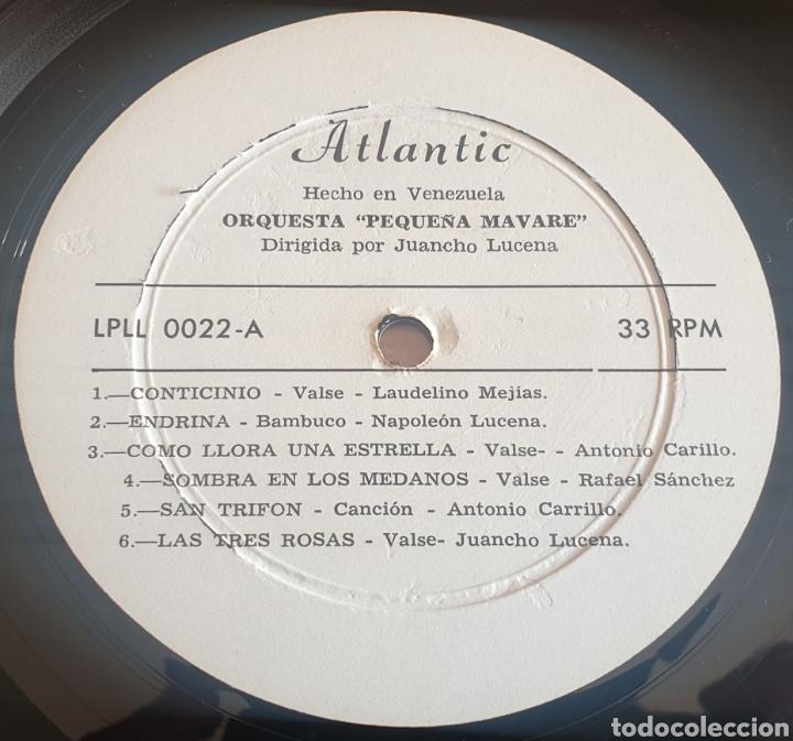 Discos de vinilo: LP ORQUESTA LA PEQUEÑA MAVARE DE JUANCHO LUCENA - Música Venezolana (Venezuela - Atlantic - 1970) - Foto 6 - 244695105
