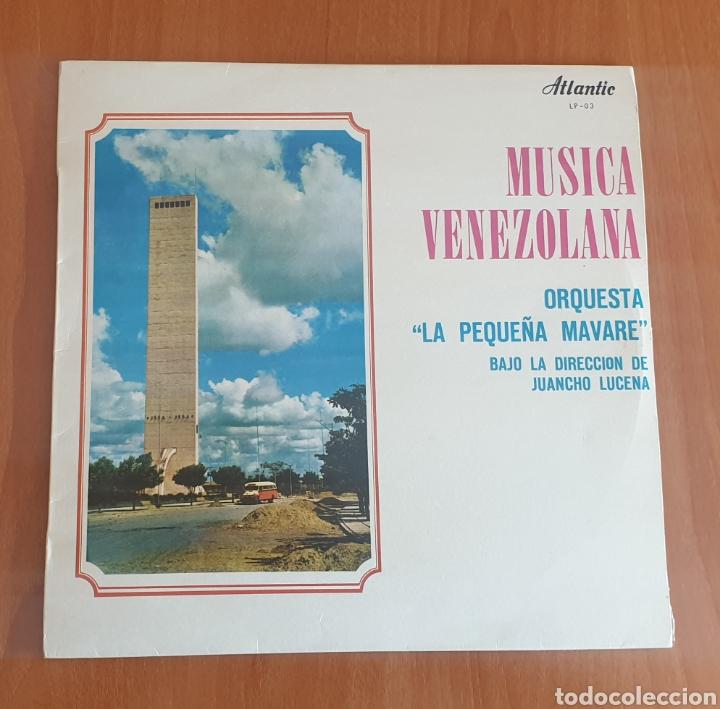 LP ORQUESTA LA PEQUEÑA MAVARE DE JUANCHO LUCENA - MÚSICA VENEZOLANA (VENEZUELA - ATLANTIC - 1970) (Música - Discos - LP Vinilo - Grupos y Solistas de latinoamérica)
