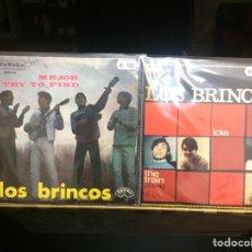 Discos de vinilo: LOS BRINCOS. 2 SINGLES.. Lote 244699450