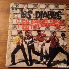 Discos de vinilo: LOS DIABLOS - EN CASA DE TOMÁS ************** RARO SINGLE 1969 BUEN ESTADO!. Lote 244701205