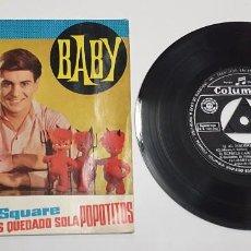 Discos de vinilo: BABY. ECHALE CARIÑO. EP. HECHO EN ESPAÑA 1962. COLUMBIA.. Lote 244702020