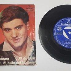 Discos de vinilo: BABY. LUP DE LUP. EP. HECHO EN ESPAÑA 1963.COLUMBIA.. Lote 244702625