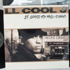 Discos de vinilo: L L COOL J - 4 SHOTS TO THE DOME. Lote 244704220