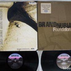 Discos de vinilo: BRAND NUBIAN FOUNDATION. Lote 244704385