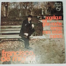 Discos de vinilo: FRANCISCO DE MIGUEL: ANGELIQUE + 3:(PHILIPS 1966). Lote 244706350