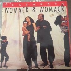 Discos de vinilo: WOMACK & WOMACK TEARDROPS MAXI. Lote 244706660