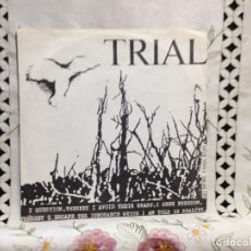 "Discos de vinilo: TRIAL - INBORN SYSTEM (PUNK ROCK) / EP 7"" MADE IN USA 1983. NM-NM. Lote 244707215"