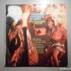 Discos de vinilo: DISCO SENCILLO DE VINILO - GITANERIAS - ORQUESTA ESPAÑOLA DE BAILE - ATANASIO ORTIN - EKIPO 1969. Lote 244708770