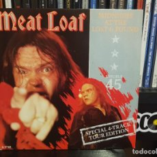 Discos de vinilo: MEAT LOAF - MIDNIGHT AT THE LOST AND FOUND - 2 SINGLE. Lote 244710850