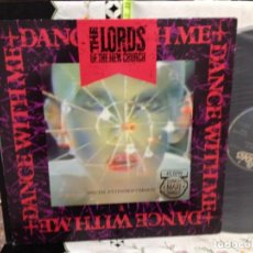 Discos de vinilo: THE LORDS OF THE NEW CHURCH - DANCE WHITH ME / MAXI 12' VINYL SPAIN 1983. NM-NM. Lote 244710915
