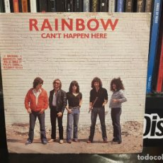 Discos de vinilo: RAINBOW - CAN'T HAPPEN HERE. Lote 244712640