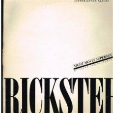 Discos de vinilo: RICKSTER - NIGHT MOVES - MAXI SINGLE 1988 - ED. ESPAÑA. Lote 244713405