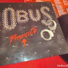 Discos de vinilo: OBUS PREPARATE LP 1981 CHAPA DISCOS HEAVY NACIONAL ORIGINAL VINILO. Lote 244713785