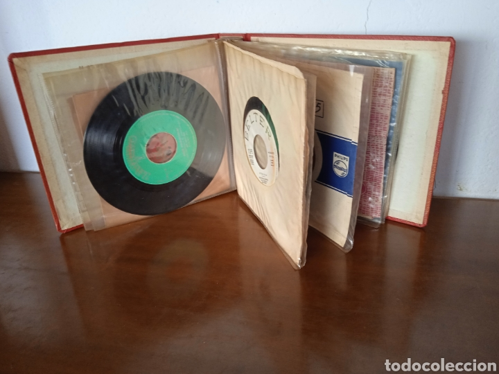 Discos de vinilo: Interesante álbum 12 discos single antiguos. ZAFIRO, BELTER Microsurco, DEMON,TELEFUNKEN, ODEON,.. - Foto 4 - 244716130