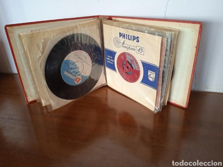 Discos de vinilo: Interesante álbum 12 discos single antiguos. ZAFIRO, BELTER Microsurco, DEMON,TELEFUNKEN, ODEON,.. - Foto 5 - 244716130