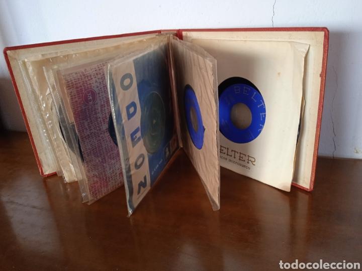 Discos de vinilo: Interesante álbum 12 discos single antiguos. ZAFIRO, BELTER Microsurco, DEMON,TELEFUNKEN, ODEON,.. - Foto 6 - 244716130