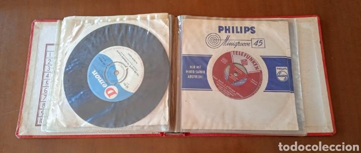 Discos de vinilo: Interesante álbum 12 discos single antiguos. ZAFIRO, BELTER Microsurco, DEMON,TELEFUNKEN, ODEON,.. - Foto 10 - 244716130