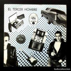 Discos de vinilo: EL TERCER HOMBRE - MELODÍAS DE WURLITZER / AL CAER LA NOCHE - SINGLE 1986 - LA ROSA. Lote 244716675