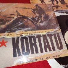 Discos de vinilo: KORTATU EL ESTADO DE LAS COSAS LP 1986 SOÑUA. Lote 244716800