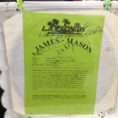 Discos de vinilo: JAMES - MASON - DANGEROUS TIMES - DANGEROUS LOVE / RARE TEST PRESSING ALBUM UK 1990.. Lote 244717005