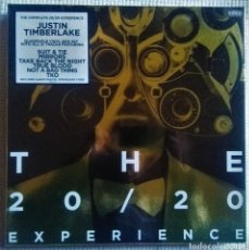 "Discos de vinilo: JUSTIN TIMBERLAKE - "" THE COMPLETE 20/20 EXPERIENCE "" 4 LP BOX SET EU 2013 SEALED. Lote 202552061"