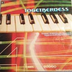Discos de vinilo: RONNIE ALDRICH Y SUS DOS PIANOS. TOGETHERNESS. 4 FASES ESTEREO.. Lote 244720410