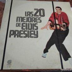 Discos de vinilo: º ELVIS PRESTEY - LAS 20 MEJORES DE ELVIS PRESLEY - IMPACTO RECORDS - ESPAÑA 1977. Lote 244726905