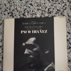 Discos de vinilo: LP DE PACO IBÁÑEZ. Lote 244729375