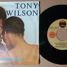 Discos de vinilo: TONY WILSON / NEW ORLEANS MUSIC / SINGLE 7 PULGADAS. Lote 244730785