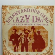 Discos de vinilo: SPANKY AND OUR GANG, LAZY DAY (MERCURY 1967). Lote 244732545