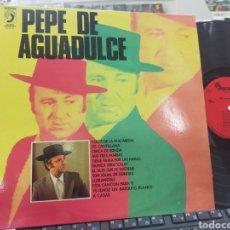 Discos de vinilo: PEPE DE AGUADULCE LP 1977. Lote 244733525