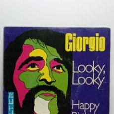 Discos de vinilo: GIORGIO, LOOKY LOOKY (BELTER 1969) + TRIPTICO PROMO. Lote 244734130