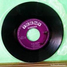 Discos de vinilo: DON DUKE AND BOBBY STEVENS. BLUE MOON. LIMPIO,TRATADO CON ALCOHOL ISOPROPÍLICO - AZ. Lote 244737670