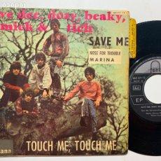 Discos de vinilo: SINGLE EP DAVE DEE, DOZY, BEAKY, MICK & TICH TOUCH ME TOUCH ME EDICION ESPAÑOLA DE 1967. Lote 244739695