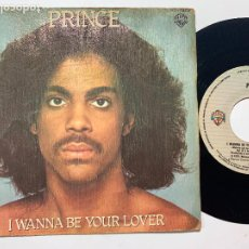 Discos de vinilo: SINGLE EP PRINCE ‎– I WANNA BE YOUR LOVER EDICION ESPAÑOLA DE 1980. Lote 244739970