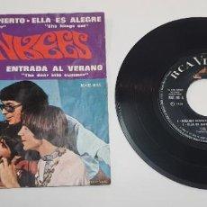 Discos de vinilo: THE MONKEES. SOÑANDO DESPIERTO ( DAYDREAM BELIEVER ). EP. HECHO EN MEICO. RCA VICTOR.. Lote 244751020