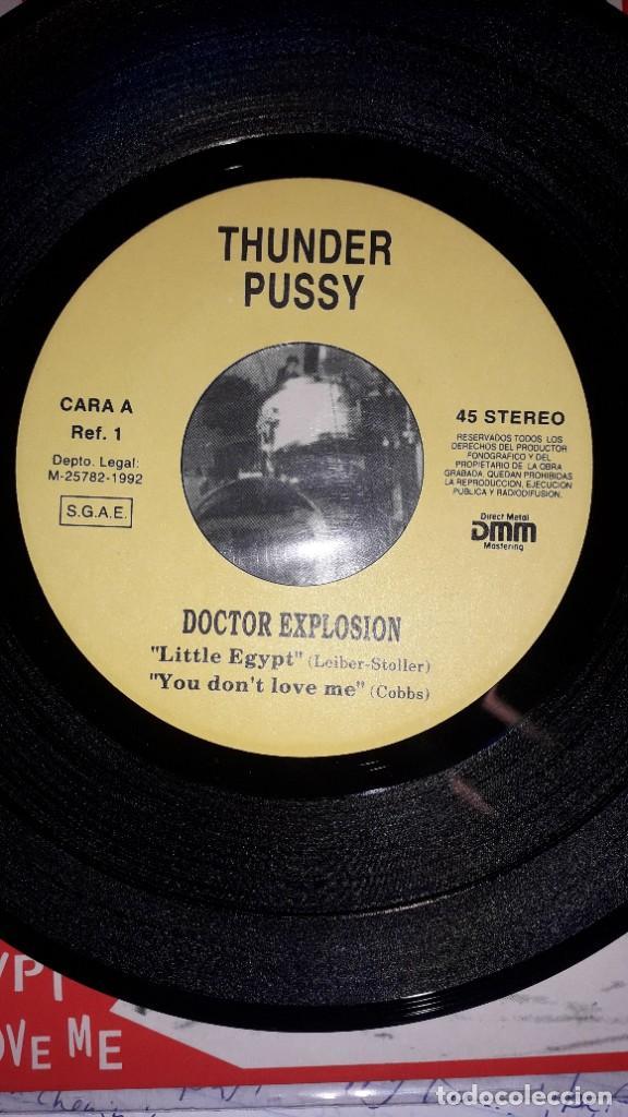 """Discos de vinilo: E.P. 7"""" 45 RPM - DOCTOR EXPLOSION - LIVE (1992 Thunder Pussy) - Foto 3 - 244752365"""