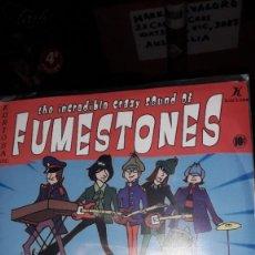 "Discos de vinilo: E.P. 7"" 45 RPM - THE INCREDIBLE CRAZY SOUND OF THE FUMESTONES - NOW AT THE...MINIBAR!!! (2005GARAGE). Lote 244754175"