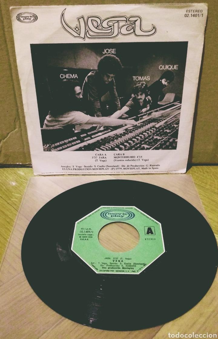 Discos de vinilo: VEGA - JARA / MONTERRUBIO SG Movieplay 1979 - Foto 2 - 244754390