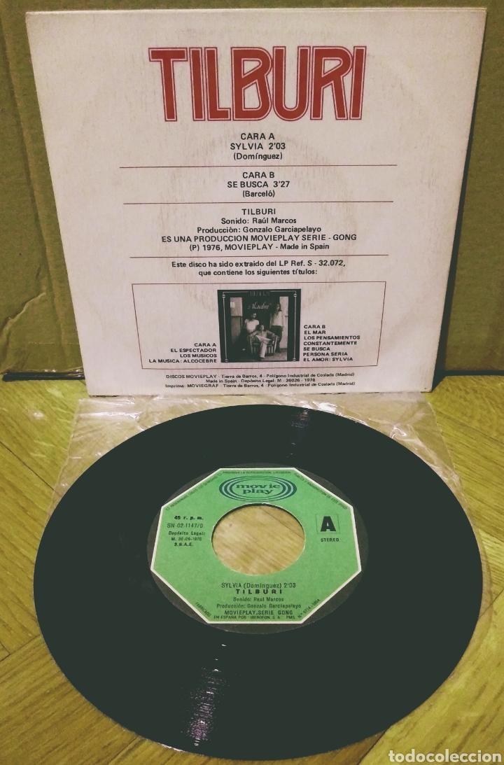Discos de vinilo: TILBURI - SYLVIA / SE BUSCA SG Movieplay 1976 - Foto 2 - 244754860