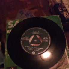 Discos de vinilo: SANTY, CARPETA EN MAL ESTADO.. Lote 244755195