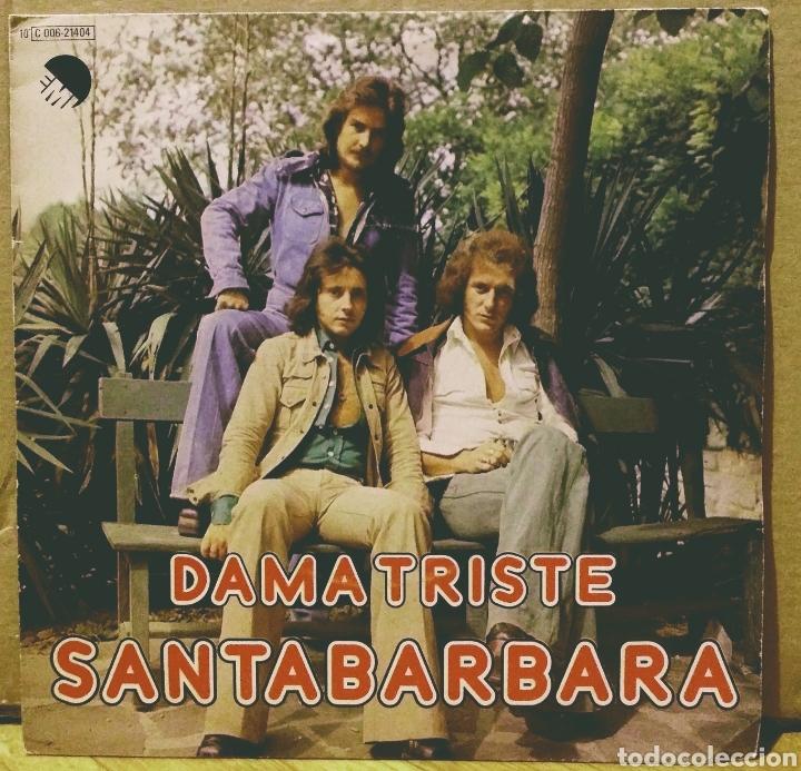 SANTABARBARA - DAMA TRISTE / PAZ SG EMI 1977 (Música - Discos - Singles Vinilo - Grupos Españoles de los 70 y 80)