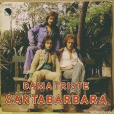 Discos de vinilo: SANTABARBARA - DAMA TRISTE / PAZ SG EMI 1977. Lote 244757830