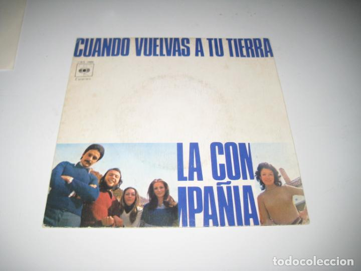 LA COMPAÑIA - CUANDO VUELVAS A TU TIERRA (Música - Discos - Singles Vinilo - Grupos Españoles de los 70 y 80)