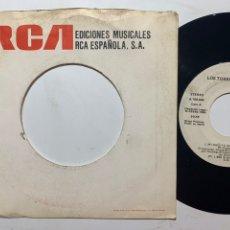 Discos de vinilo: SINGLE EP LOS TOREROS MUERTOS MI AGÜITA AMARILLA PROMO EDICIÓN ESPAÑOLA DE 1986. Lote 244762105