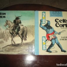 Discos de vinilo: CELTAS CORTOS - LOTE DE DOS LPS MUY NUEVOS - UNO CON HOJA INTERIOR. Lote 244770425