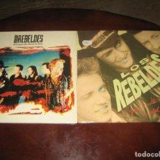Discos de vinilo: LOS REBELDES - LOTE DE 2 LPS MUY NUEVOS. Lote 244770755