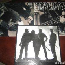 Discos de vinilo: BARRICADA - DOBLE LP CONTIENE FOLLETO CON 8 PAGINAS DE LETRAS Y FOTOS - MUY NUEVO. Lote 244770845