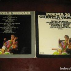 Discos de vinilo: CHAVELA VARGAS - DOBLE PORTADA - MUY NUEVO. Lote 244770960