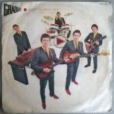 Discos de vinilo: GRADUATE. ELVIS SHOULD PLAY SKA (ELVIS CANTARIA SKA)/ SICK AND TIRED. ZAFIRO, SPAIN 1980 SINGLE. Lote 244772640